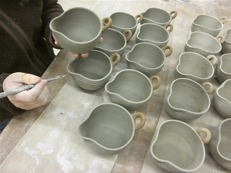 納豆鉢を作り