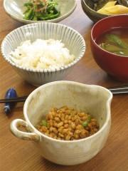 納豆鉢・林檎灰釉雨降飯碗