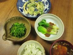 春の夕ご飯