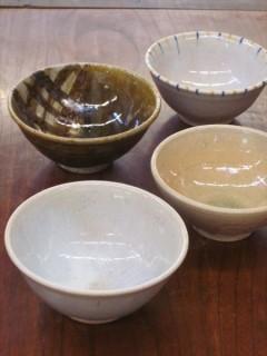 灰釉のご飯茶碗