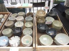 ご飯茶碗、どんぶりなど 五条坂陶器まつり