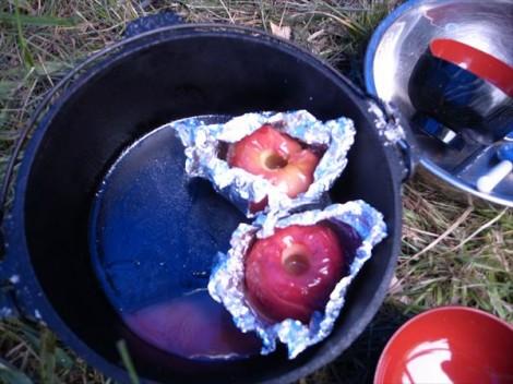 紅玉で焼き林檎