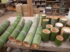 器の材料の孟宗竹