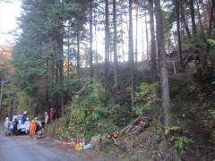 穴窯と登り窯の薪