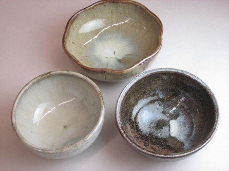 登り窯 藁灰釉鉢
