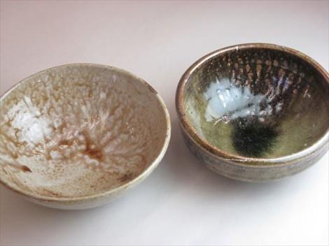 登り窯 松灰釉鉢