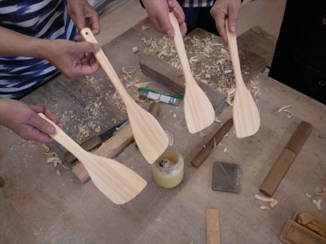 焼き物教室 陶芸教室 山菜 泰阜