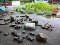 環境教育 保育園 遊具 自然