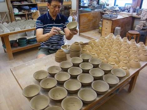 飯碗 ご飯茶碗 陶芸 食器 灰釉