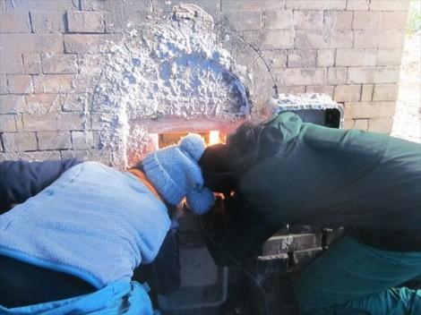 穴窯 薪窯 自然釉 焼き締め