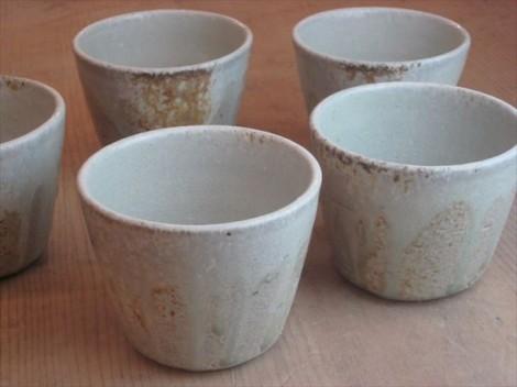 穴窯 薪窯 自然釉