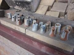 薪窯 穴窯 窯焚き 自然釉
