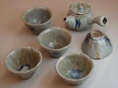 穴窯 窯焚き 草來舎 自然釉 灰釉