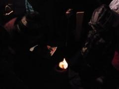 登り窯 草來舎 火起こし 窯焚き