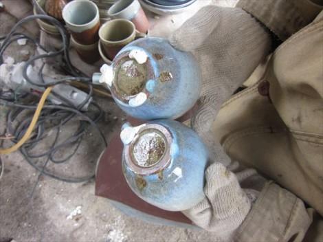 灰釉 登り窯 薪窯