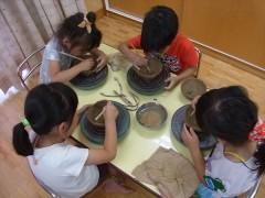 保育園 幼児 陶芸教室 焼物教室 造形教室 草來舎