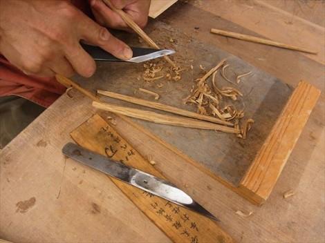 初めてのお箸 手作り