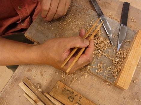 初めての箸 手作り 木工 陶芸と木工