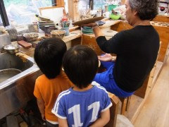 森のようちえん 草來舎 親子 陶芸教室 焼物教室 造形教室