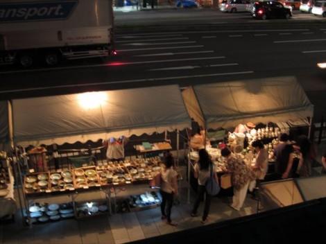 京都 五条坂 陶器まつり 草來舎 陶器市