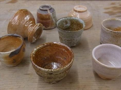 志野釉 長石釉 灰釉 薪窯