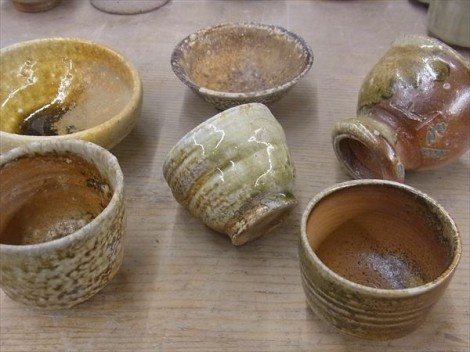 信楽 伊賀 自然釉 登り窯 薪窯