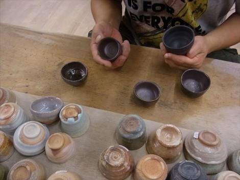 陶器 自然釉 灰釉 くらしのうつわ 薪窯