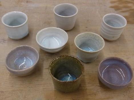 林檎灰釉 灰釉 薪窯 個展
