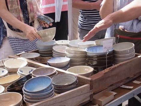 せともの祭り 瀬戸 草來舎 陶器市
