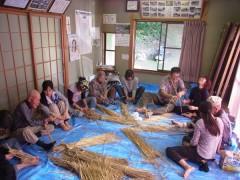 藁 藁細工 自然体験 環境教育 草來舎
