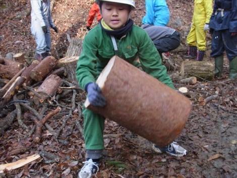 登り窯 薪 林業 環境教育 体験教育 草來舎
