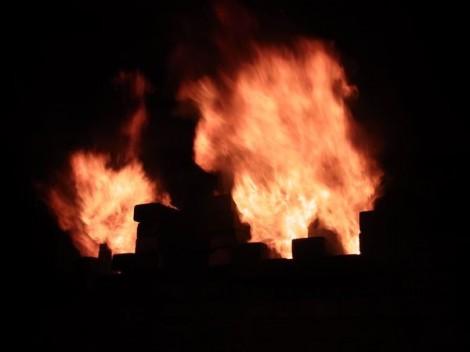 登り窯 窯焚き 造形教室 陶芸教室 自然体験 草來舎