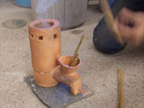登り窯 陶芸教室 窯焚き 草來舎