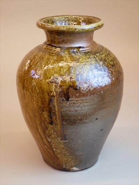 灰釉 自然釉 登り窯 ギャラリー安里 草來舎 展示会 和食器 壺 花瓶 花入 信楽