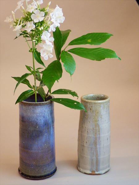 灰釉 自然釉 登り窯 ギャラリー安里 草來舎 展示会 和食器 花入 花瓶