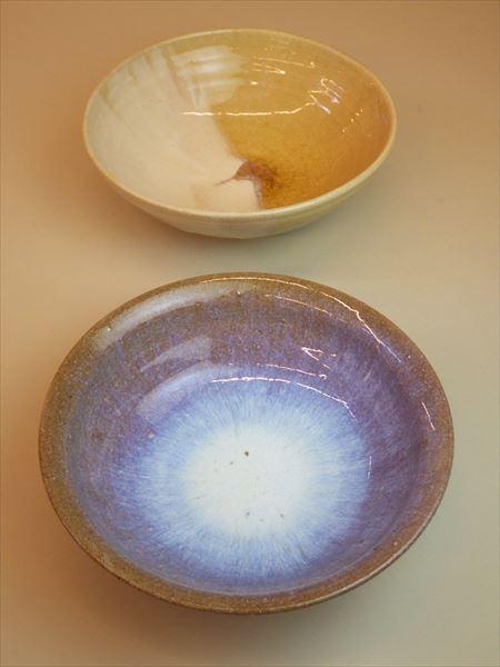 灰釉 自然釉 登り窯 ギャラリー安里 草來舎 展示会 和食器 鉢 皿
