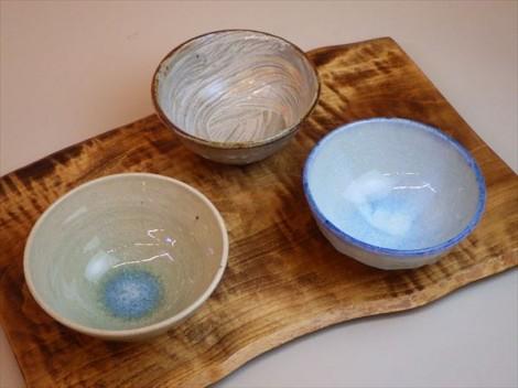灰釉 自然釉 登り窯 ギャラリー安里 草來舎 展示会 和食器 お茶碗