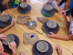 草來舎 造形教育 陶芸教室 保育園 幼稚園
