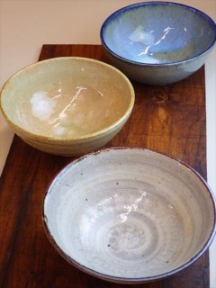 草來舎 和食器 展示会 スペース高輪 鉢 皿 どんぶり 販売 灰釉
