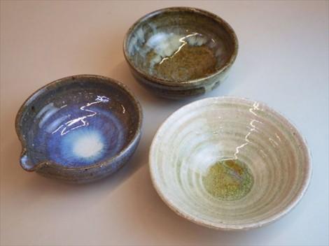 草來舎 和食器 展示会 スペース高輪 鉢 皿 小鉢 販売 灰釉
