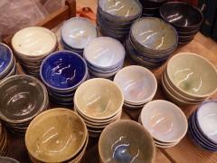 草來舎 和食器 販売 展示即売 スペース高輪 茶碗 どんぶり