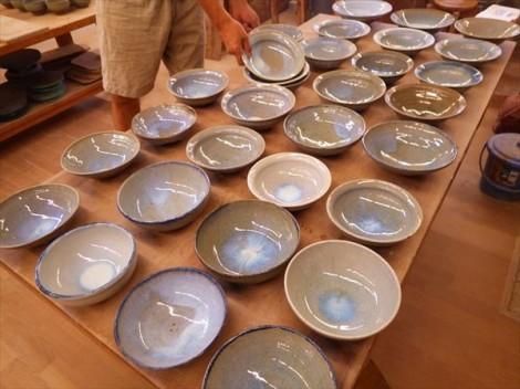草來舎 和食器 販売 展示即売 スペース高輪 茶碗 鉢 皿