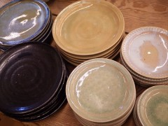 草來舎 和食器 販売 展示即売 スペース高輪 茶碗 どんぶり 皿 プレート