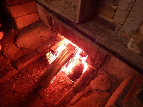 登り窯 窯焚き 和食器 灰釉 草來舎 鉢 皿 マグ