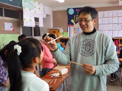 環境教育 森林教育 総合学習 草來舎 木工