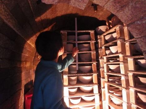 登り窯 窯焚き 薪窯 草來舎 灰釉 和食器