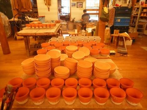 草來舎 展示会 和食器 展示即売 灰釉 品川