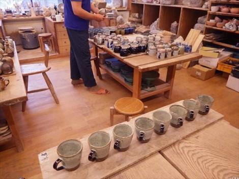 草來舎 展示会 和食器 販売 品川駅 灰釉 信楽 自然釉