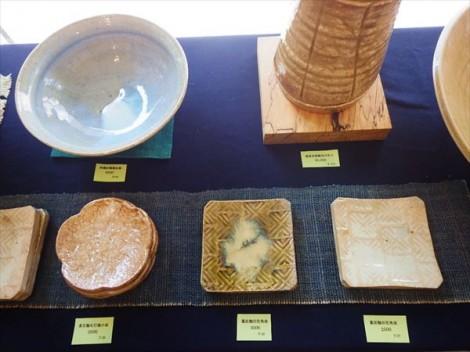 草來舎 品川駅 和食器 展示会 販売 薪窯 登り窯 灰釉 自然釉