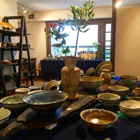 草來舎 名古屋展示会 和食器 作家もの ギャラリー安里 覚王山